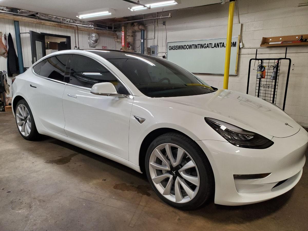 Tesla Model 3 full ceramic