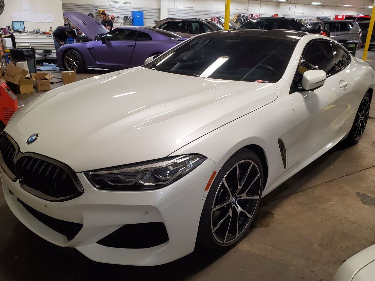 BMW M850i Full paint protection and ceramic tint