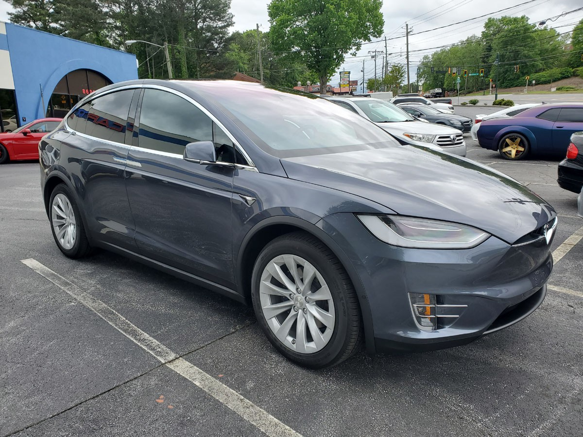 Tesla Model X full paint protection and tint